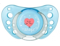 Chicco Chupete Physio Air Silicona 6-12 Meses 1 Unidad Mr.Wonderful Azul