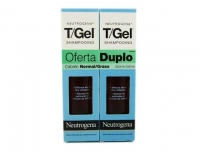 NEUTROGENA TGEL DUPLO Champú Anti-Caspa Cabello Normal/Graso 250 ml + 250 ml
