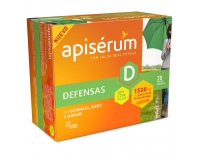 Apisérum Defensas 1500 mg de Jalea Real Fresca 20 Viales Bebibles