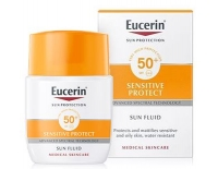 Eucerin Solar Facial Sensitive Protect Fluido Matificante (SPF50+) Piel Normal-Mixta 50 ml