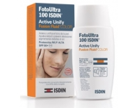 Isdin Fotoultra Fotoprotector Facial SPF 100+ Color Antimanchas Active Unify Fusión Fluido 50 ml