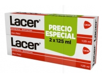 Lacer Anticaries Pasta Dentífrica DUPLO 125 ml + 125 ml