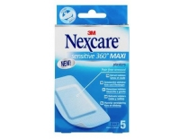 3M Nexcare Sensitive 360º Maxi Apósito Estéril 5 Unidades 50 x 100 mm