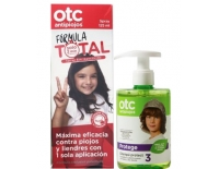 OTC Antipiojos Pack 50% Descuento Fórmula Total 2 Minutos Spray Sin Insecticidas 125 ml+Champú Protect