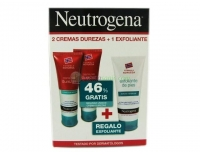 Neutrogena Pies Pack 2 Cremas de Durezas 50 ml + 50 ml + REGALO Exfoliante de Pies 75 ml