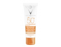 Vichy Solar Facial Capital Soleil Crema Antimanchas con Color 3 en 1 (SPF50+) 50 ml