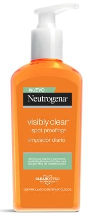 Neutrogena Visibly Clear Spot Proofing Limpiador Diario 200 ml