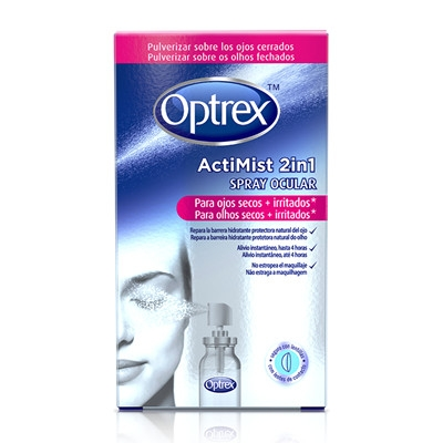Optrex Actimist 2 en 1 Spray Ocular Ojos Secos e Irritados 10 ml