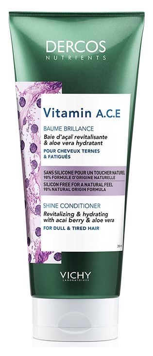 VICHY Dercos Nutrients Vitamin A.C.E. Acondicionador Brillo 200 ml